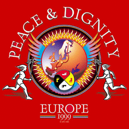 Peace-Dignity-Europe; Friedenslauf 1999